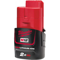 AKUMULATOR BATERIA 12V M12 2,0AH LI-ION MILWAUKEE